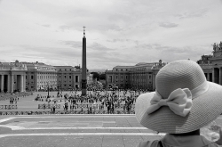 Vatican city Italy and Sankt Peters Square