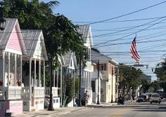 Key West Florida USA Little pink houses